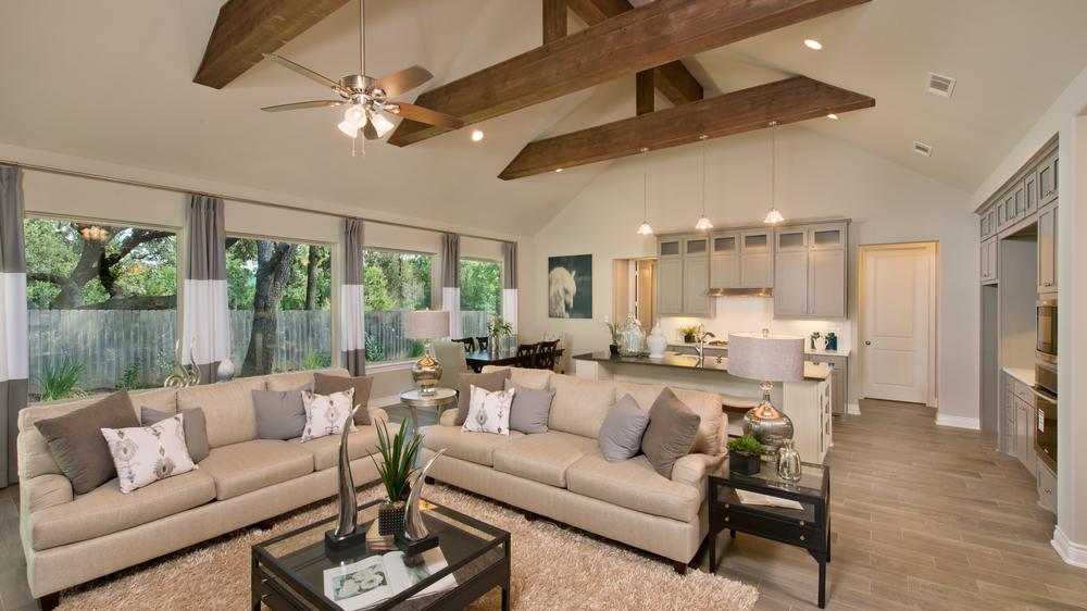 The Wimberley Model in Boerne Texas Custom Home Photo