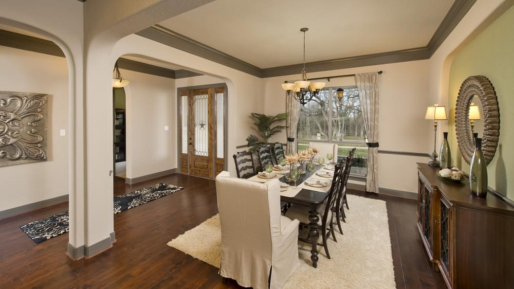The Breckenridge Model in Weatherford Texas Custom Home Photo
