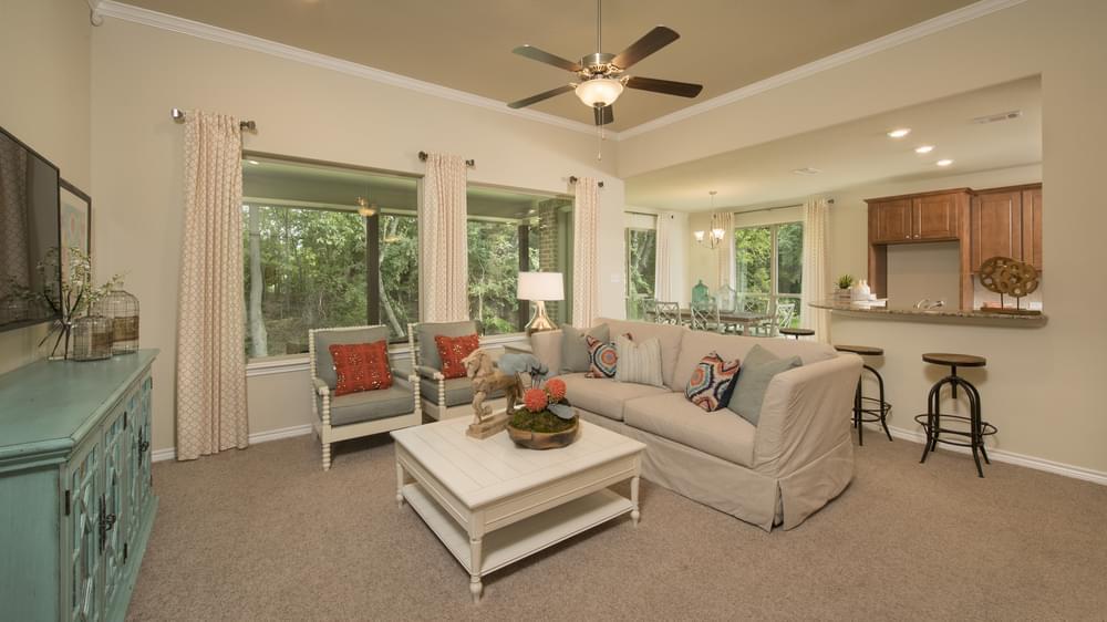 The Crockett Model in McKInney Texas Custom Home Photo