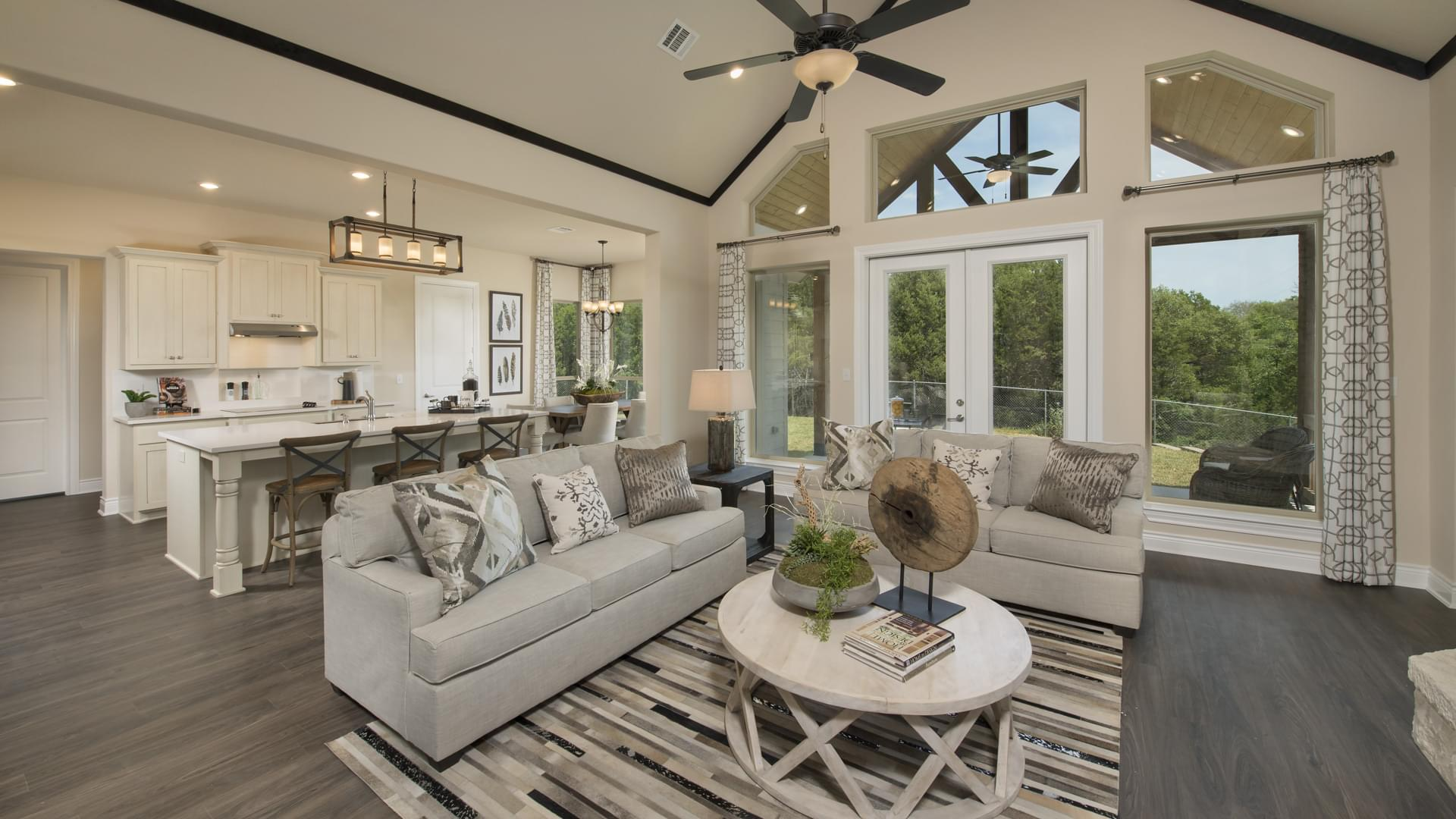 Photos Of Vaulted Ceilings Texas Custom Homes From Tilson Homes