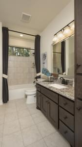 Bathroom 3 - La Salle Model in Huntsville Design Center Tilson Custom Home Photo