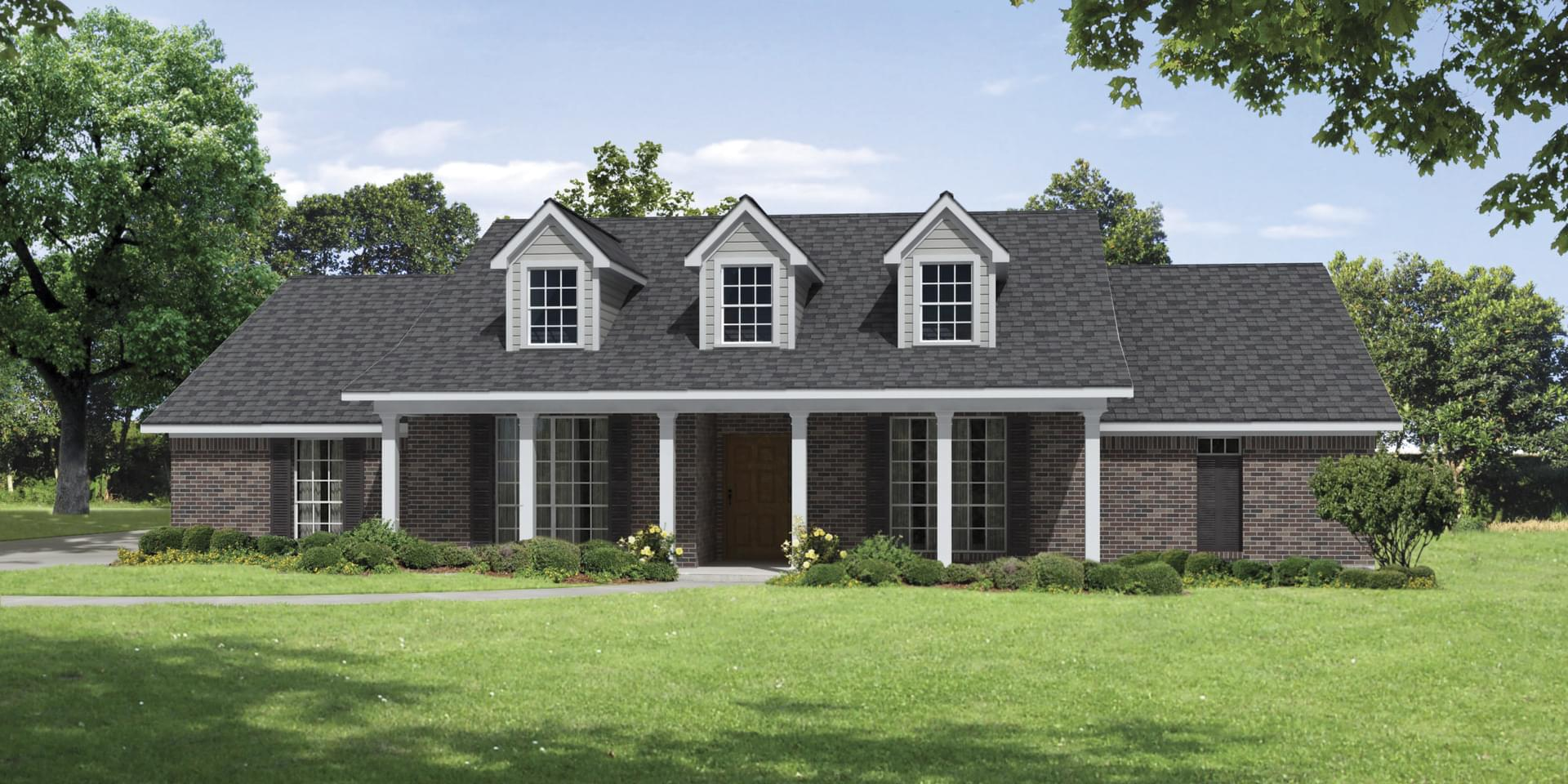 The Brisco Custom Home Plan from Tilson Homes