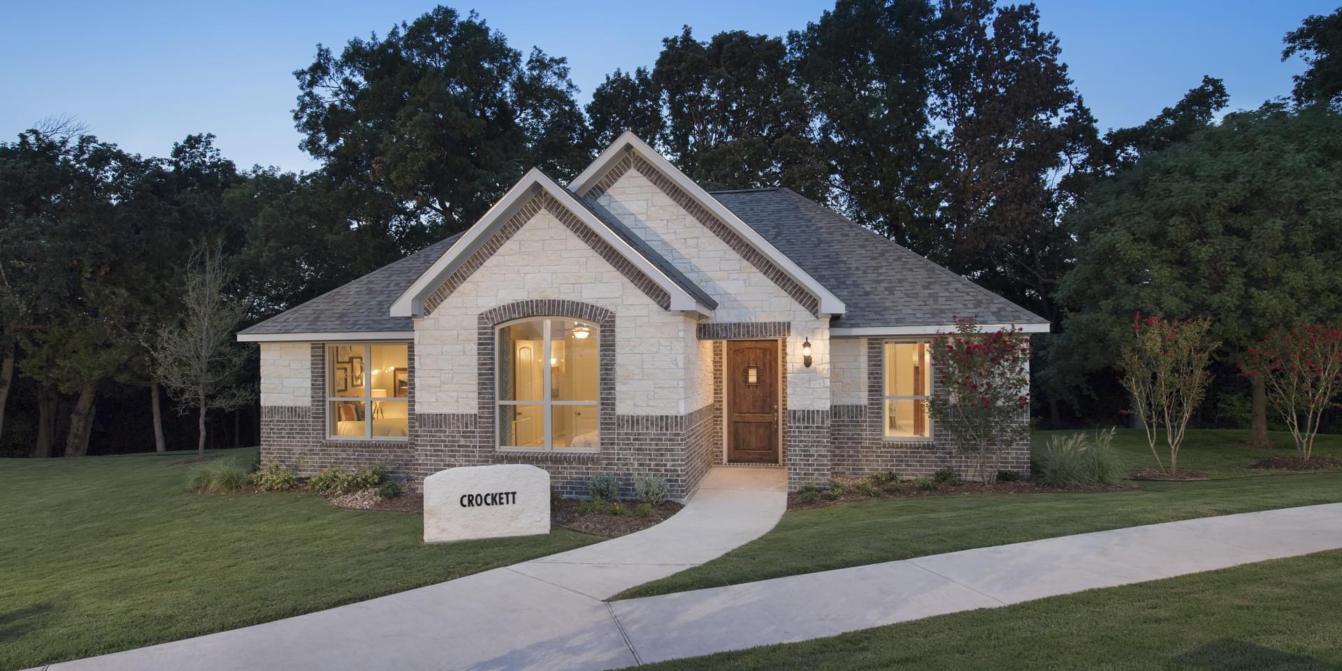 The Crockett Custom Home Plan from Tilson Homes