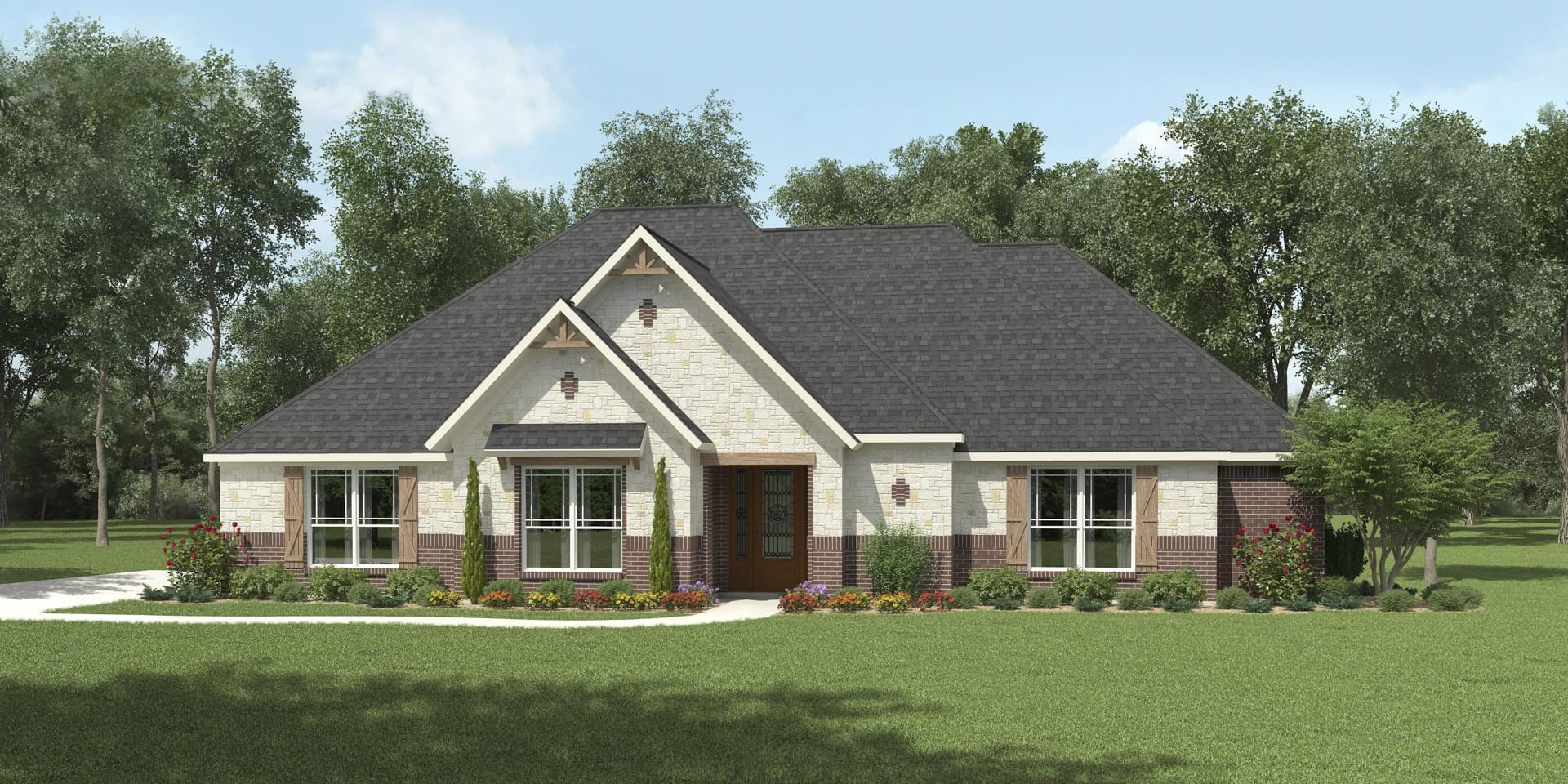 The Cypress Custom Home Plan from Tilson Homes