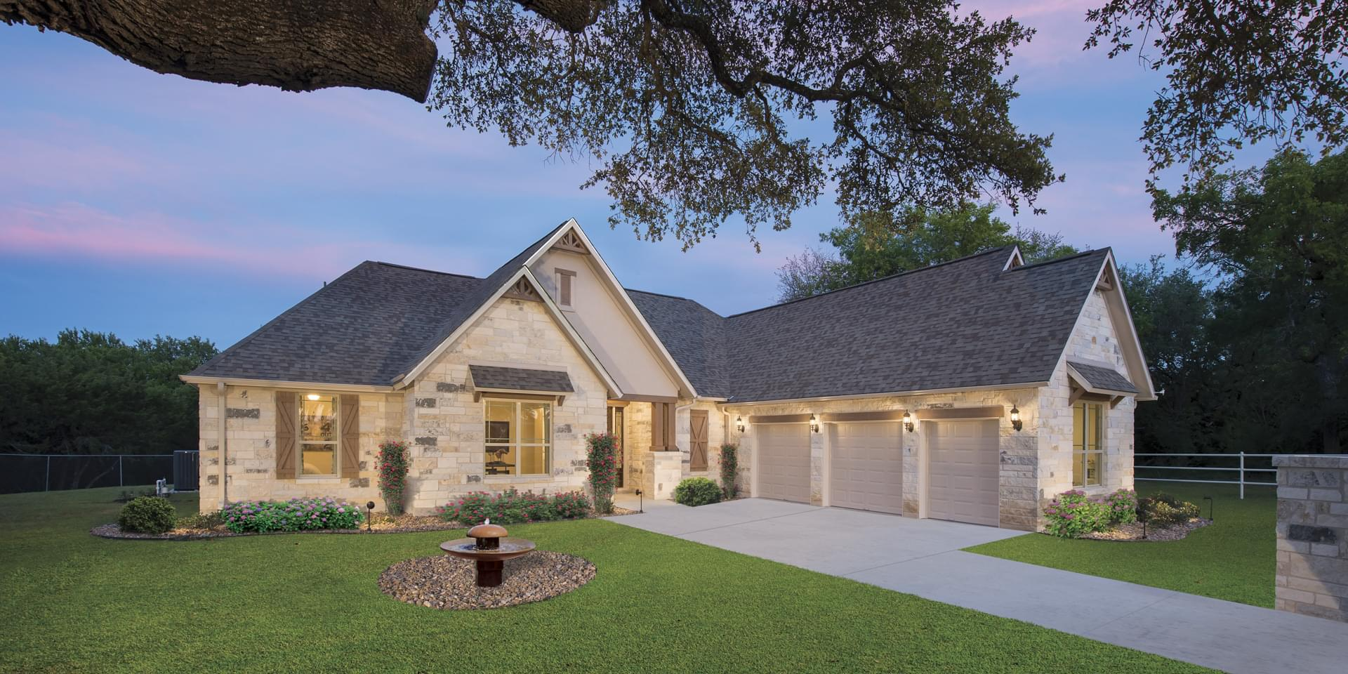 The Driftwood Custom Home Plan from Tilson Homes