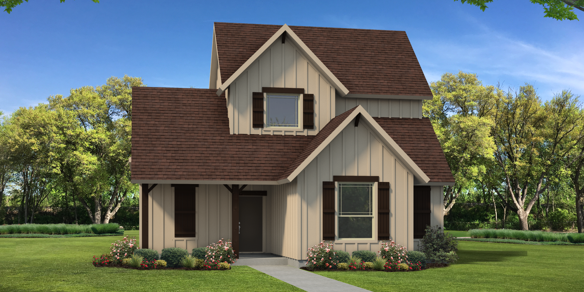 The Victoria Custom Home Plan in Young County , TX from Tilson Homes