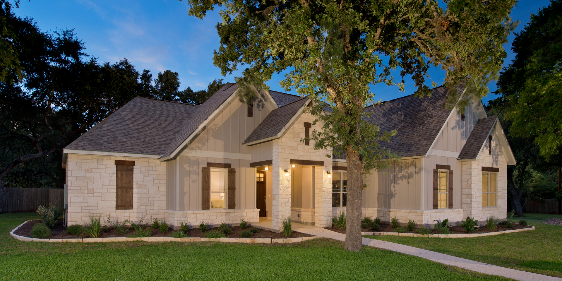 The Wimberley Custom Home Plan from Tilson Homes