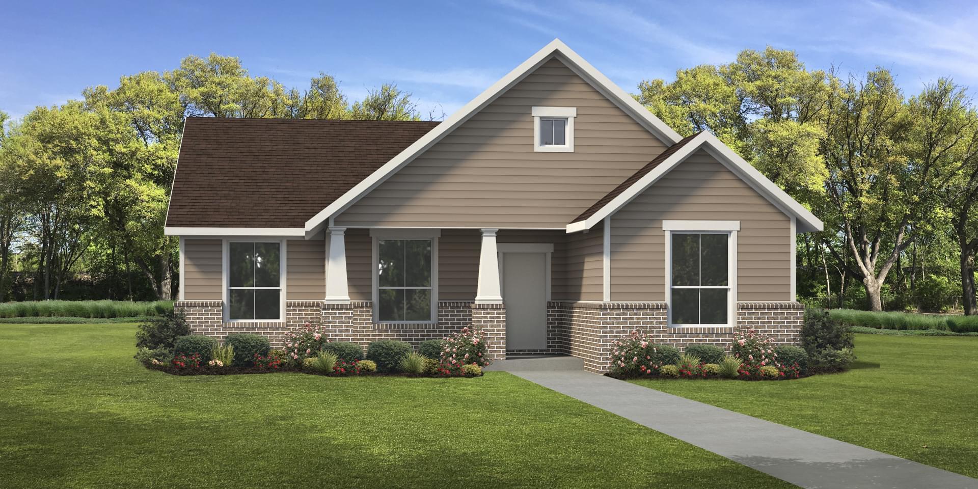 The Floresville Custom Home Plan from Tilson Homes