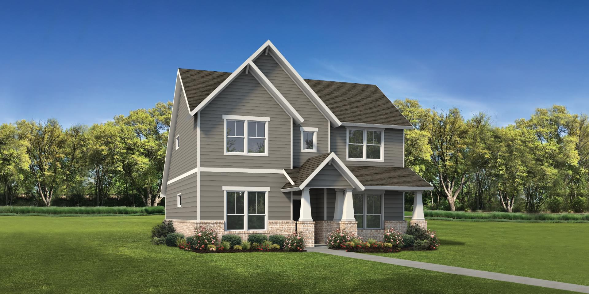 The Goliad Custom Home Plan from Tilson Homes