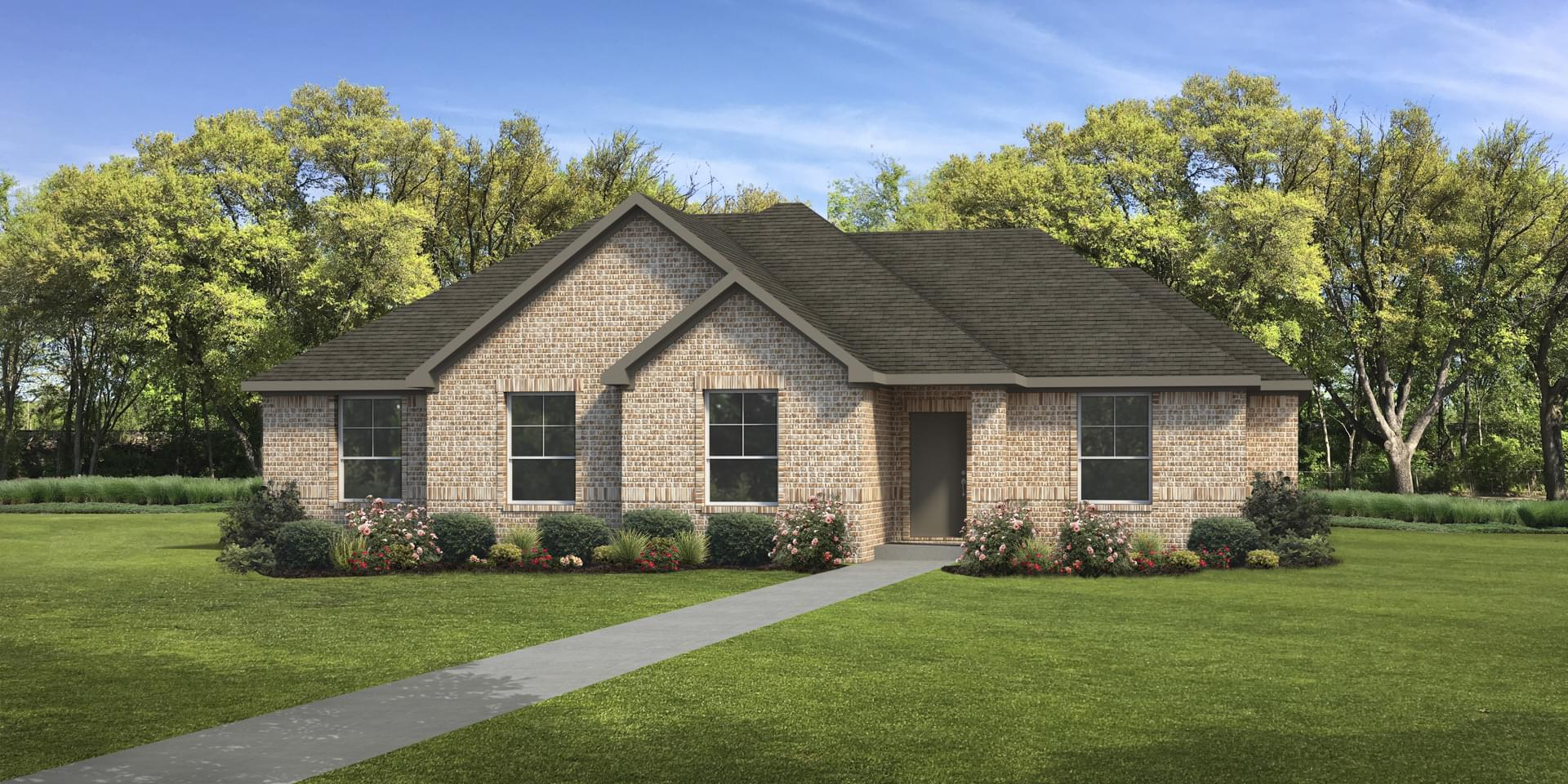 The Gonzales Custom Home Plan from Tilson Homes
