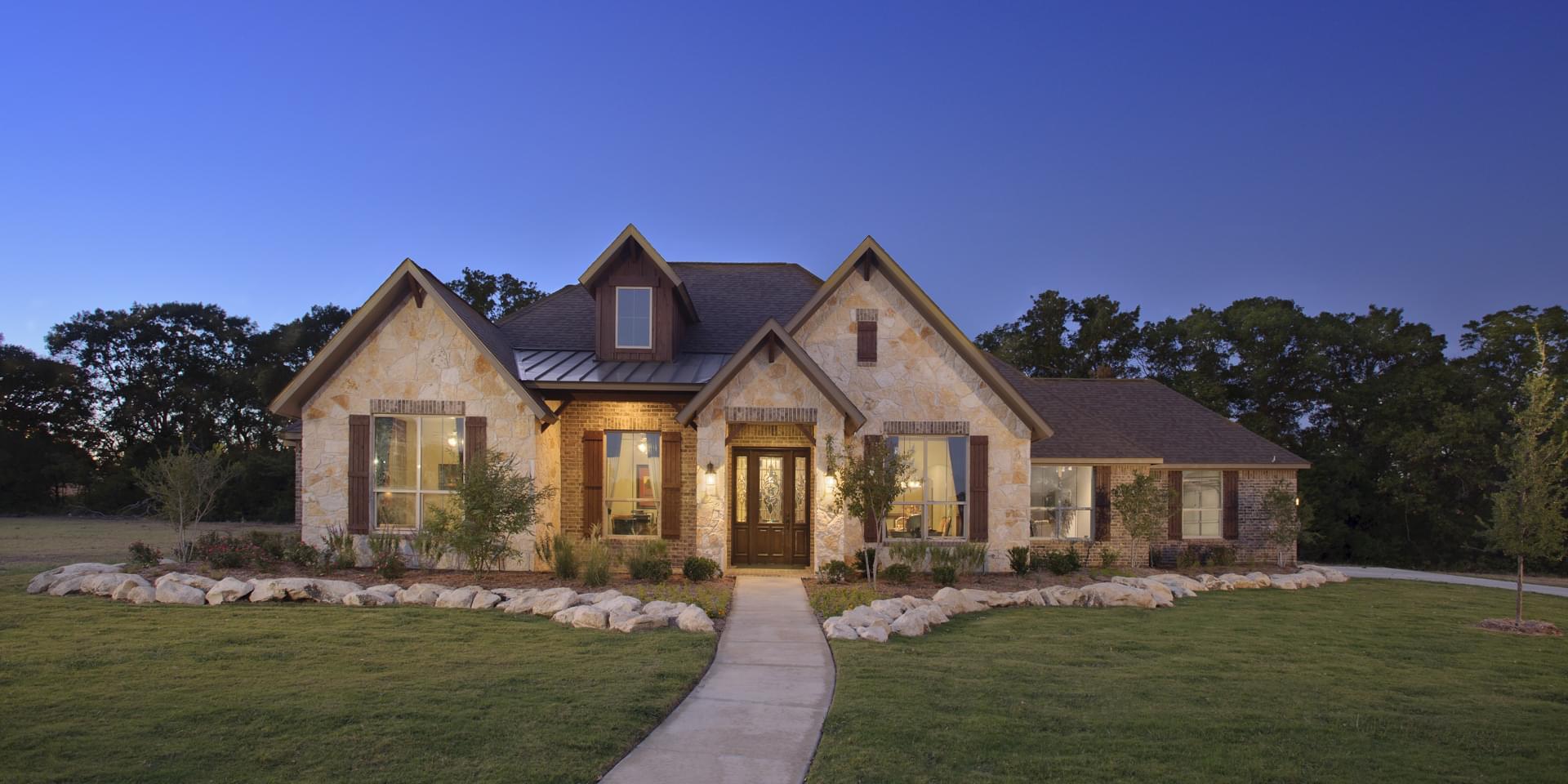 The Hillsboro Custom Home Plan from Tilson Homes