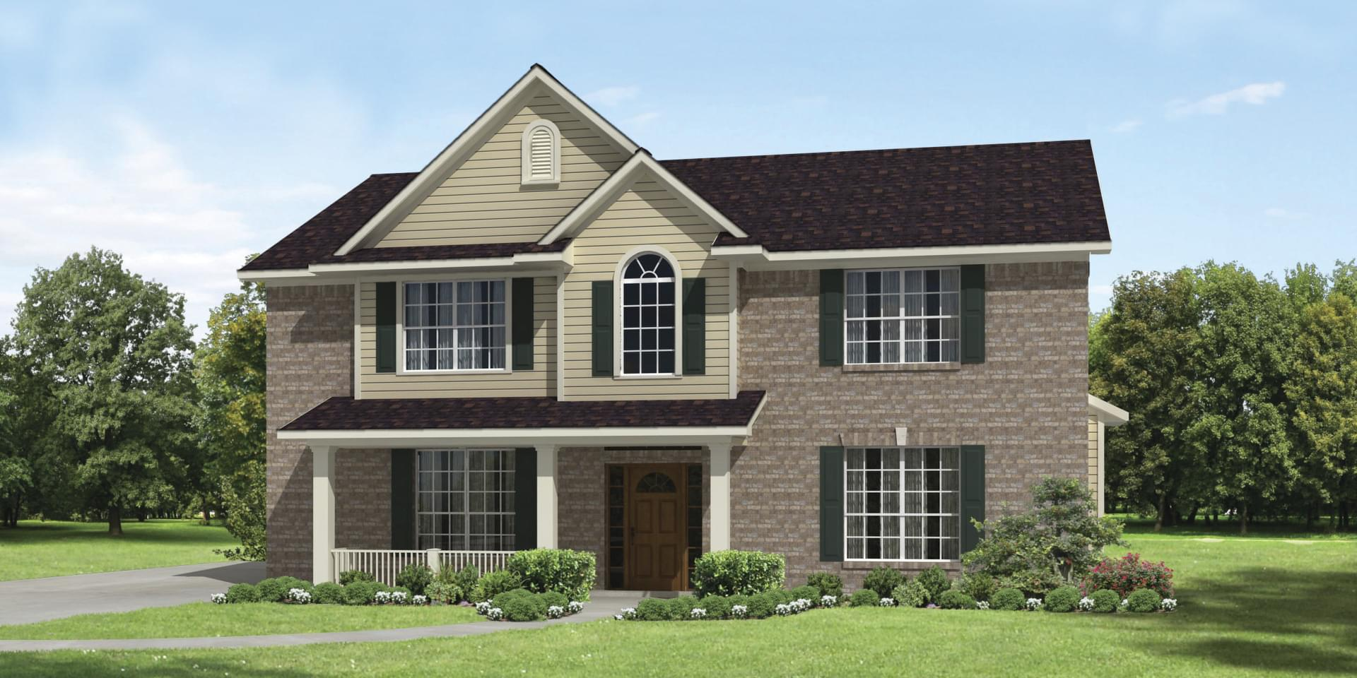 The Hansford Custom Home Plan from Tilson Homes