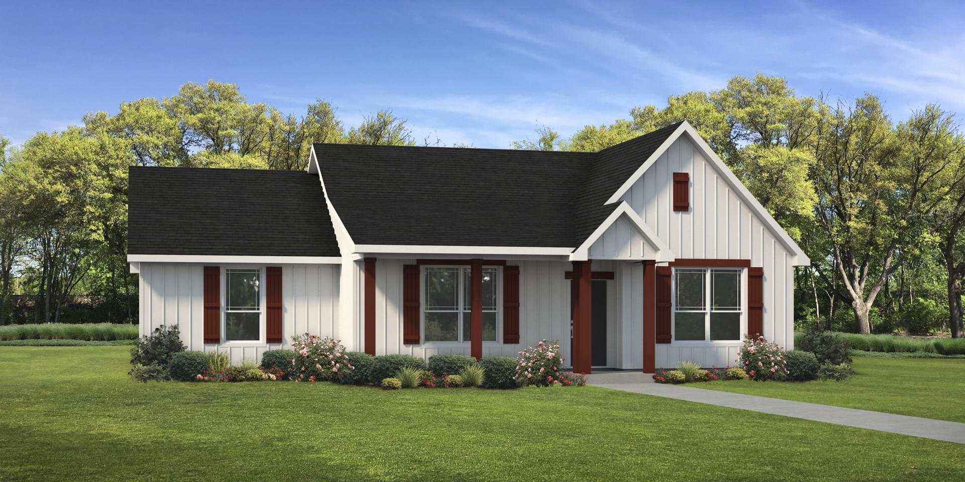 The Harrisburg Custom Home Plan from Tilson Homes