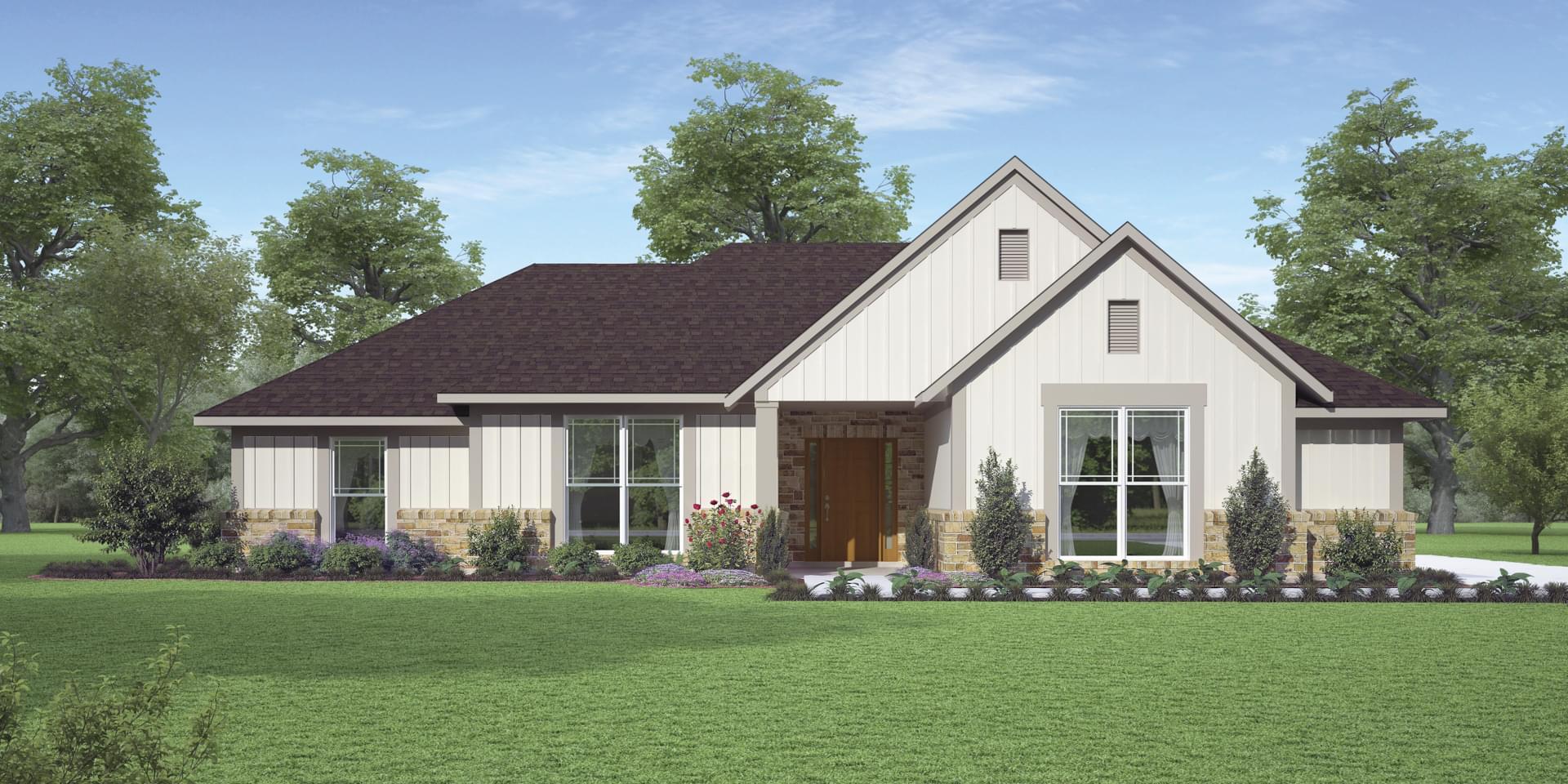 The Jacksonville Custom Home Plan from Tilson Homes