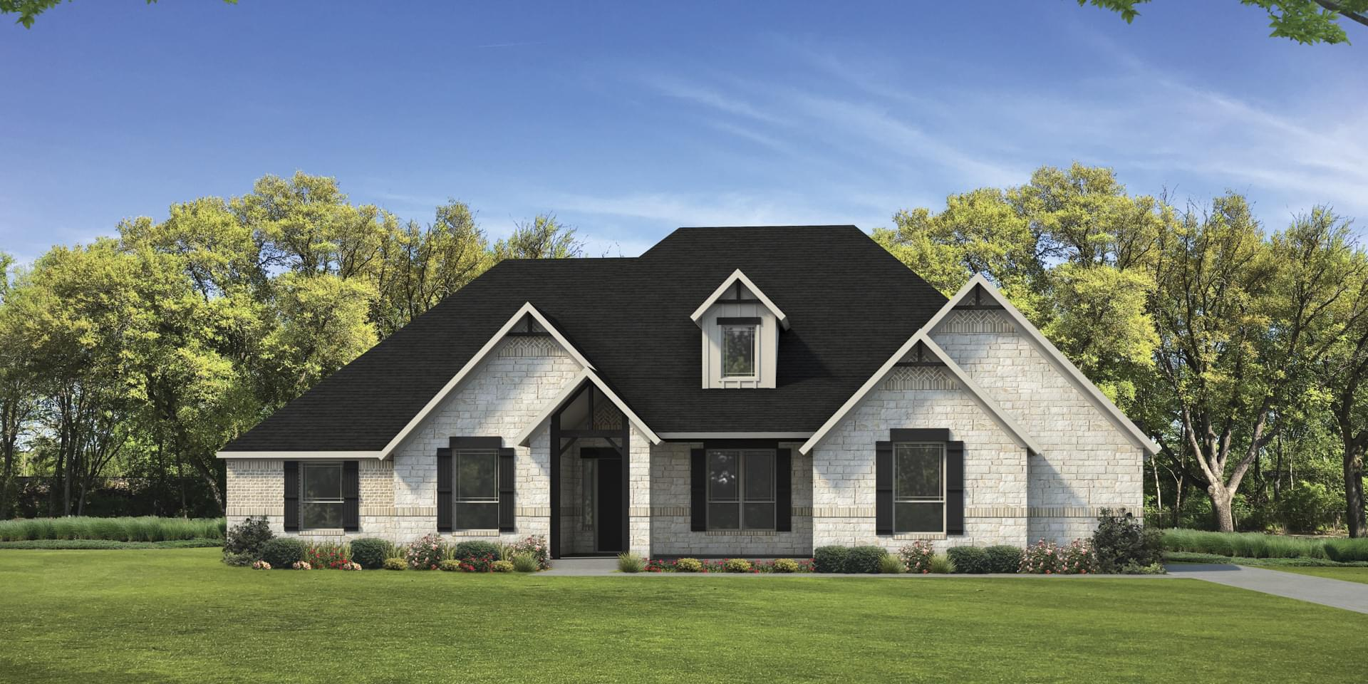 The La Salle Custom Home Plan from Tilson Homes