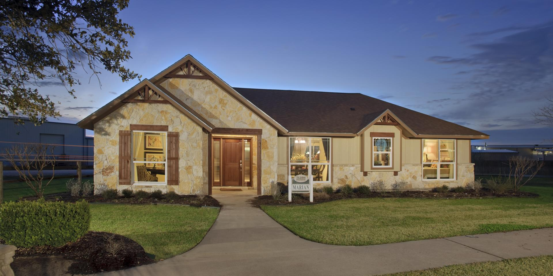The Marian Custom Home Plan from Tilson Homes