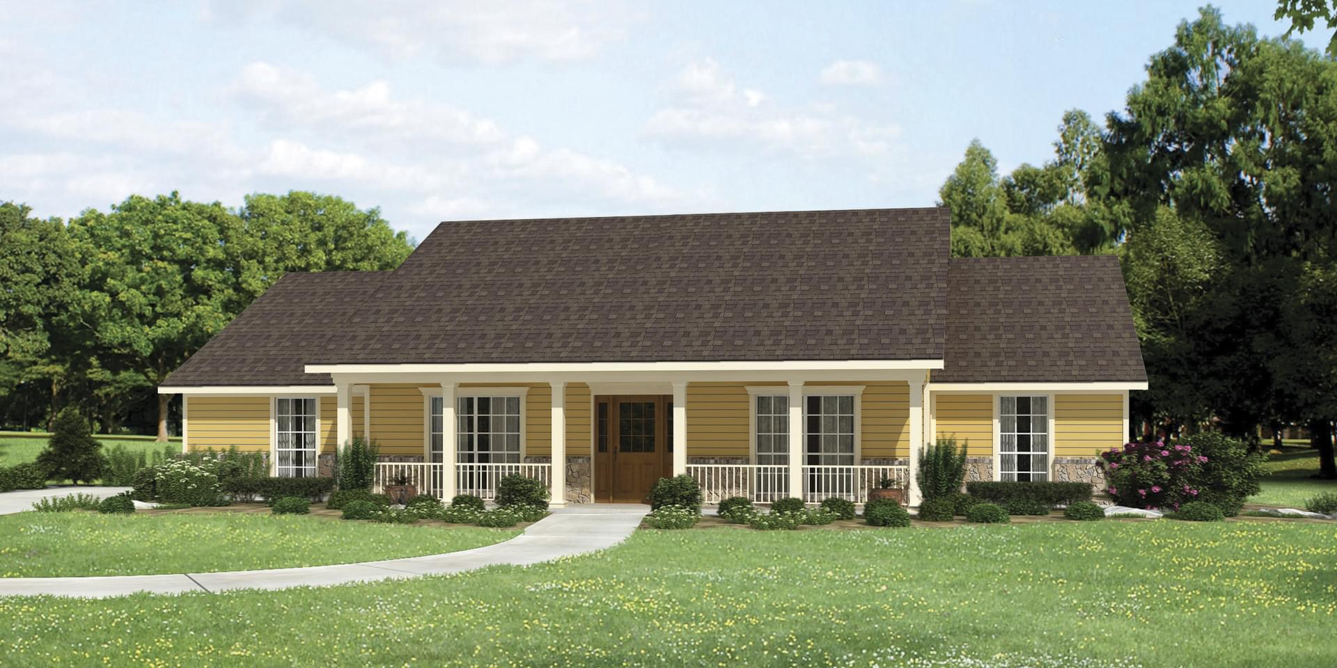 The Montgomery Custom Home Plan from Tilson Homes