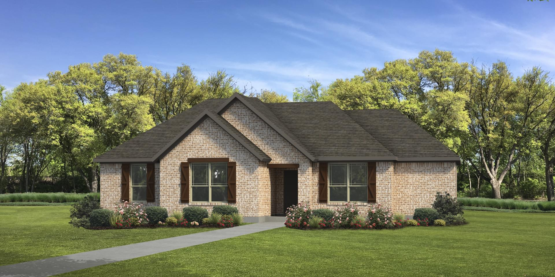 The Nacogdoches Custom Home Plan from Tilson Homes