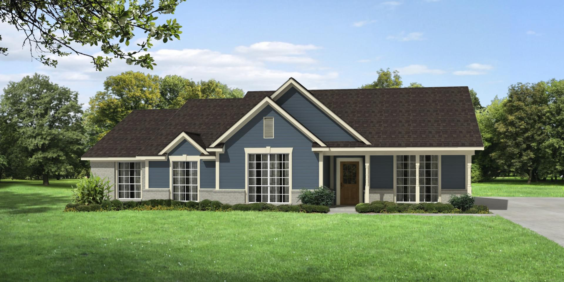 The Navarro Custom Home Plan from Tilson Homes