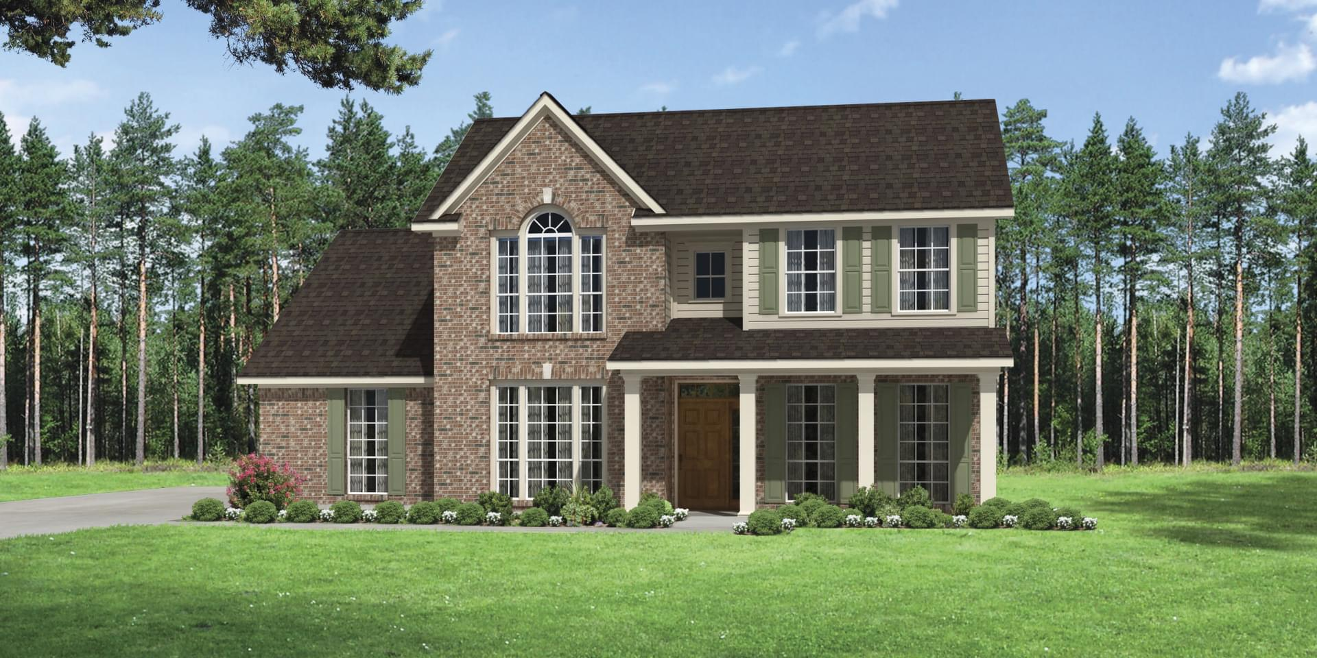 The Oxford Custom Home Plan from Tilson Homes
