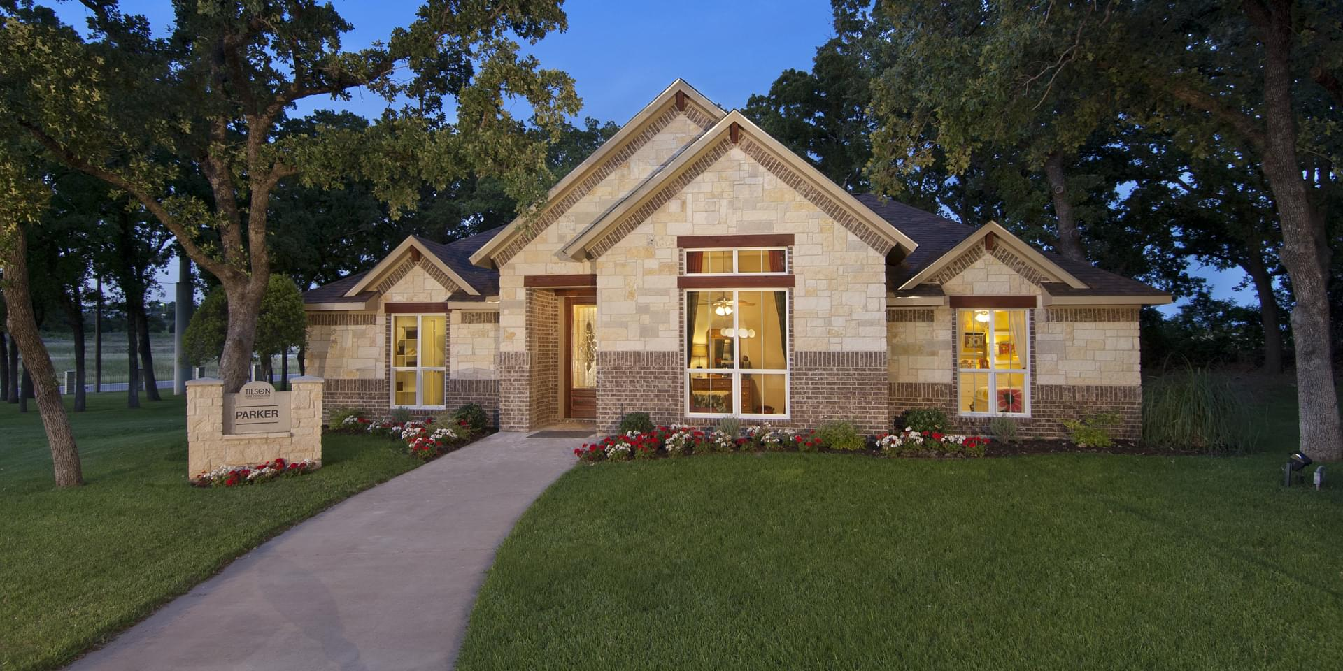 The Parker Custom Home Plan from Tilson Homes