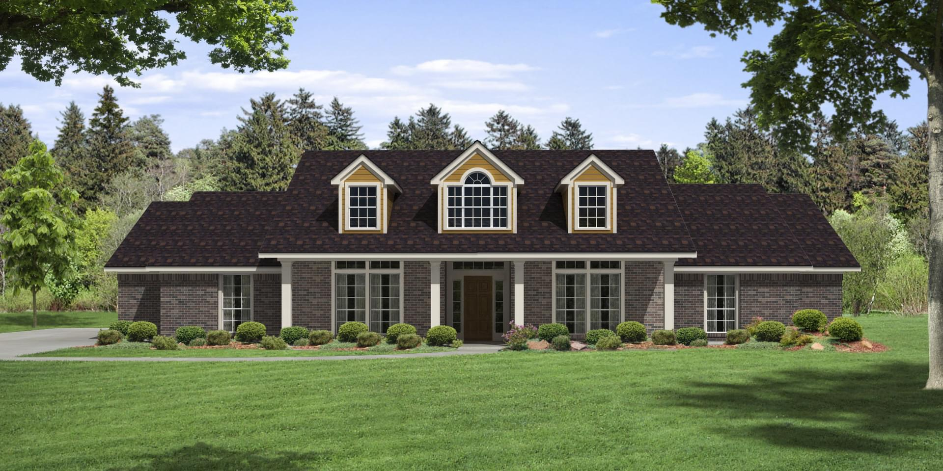 The Preston Custom Home Plan from Tilson Homes