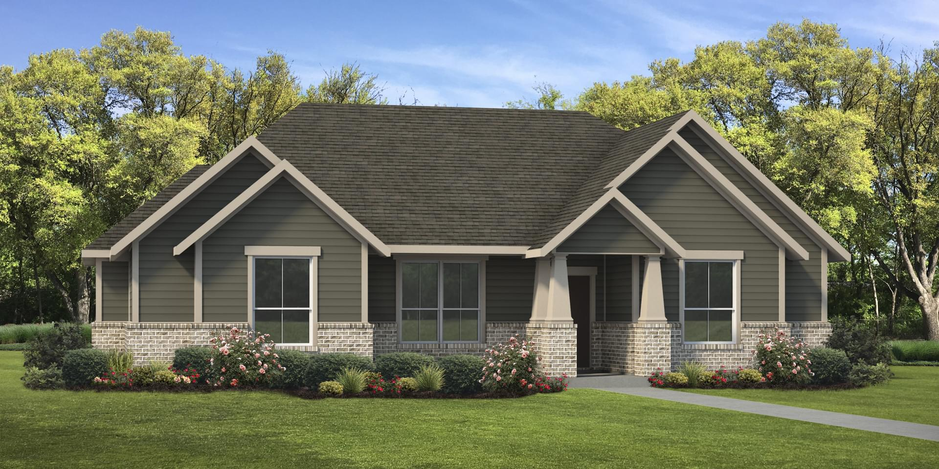 The Refugio Custom Home Plan from Tilson Homes