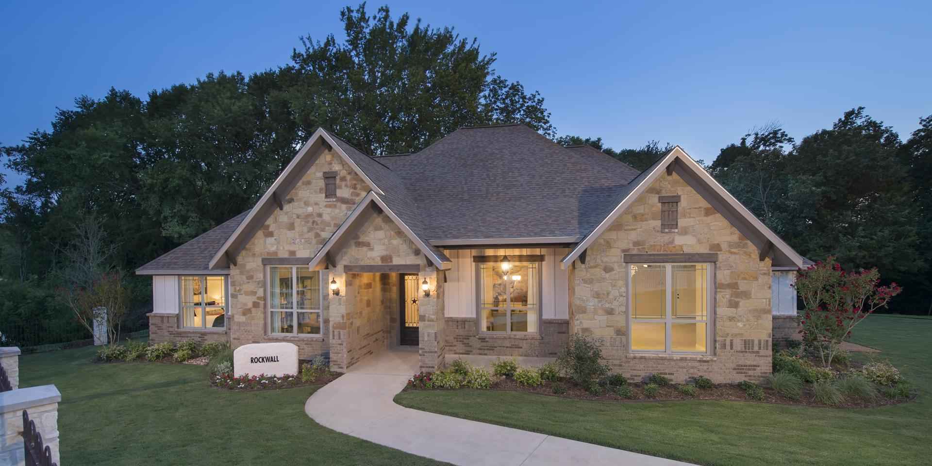 The Rockwall Custom Home Plan from Tilson Homes