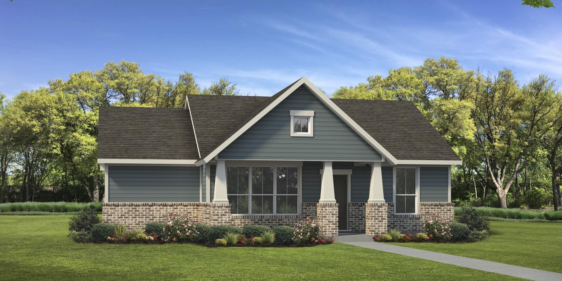 The San Antonio Custom Home Plan from Tilson Homes