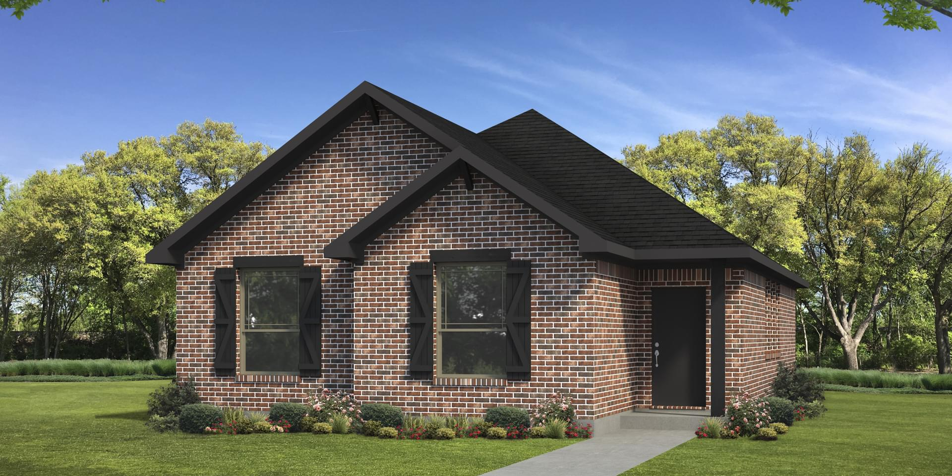 The San Felipe Custom Home Plan from Tilson Homes