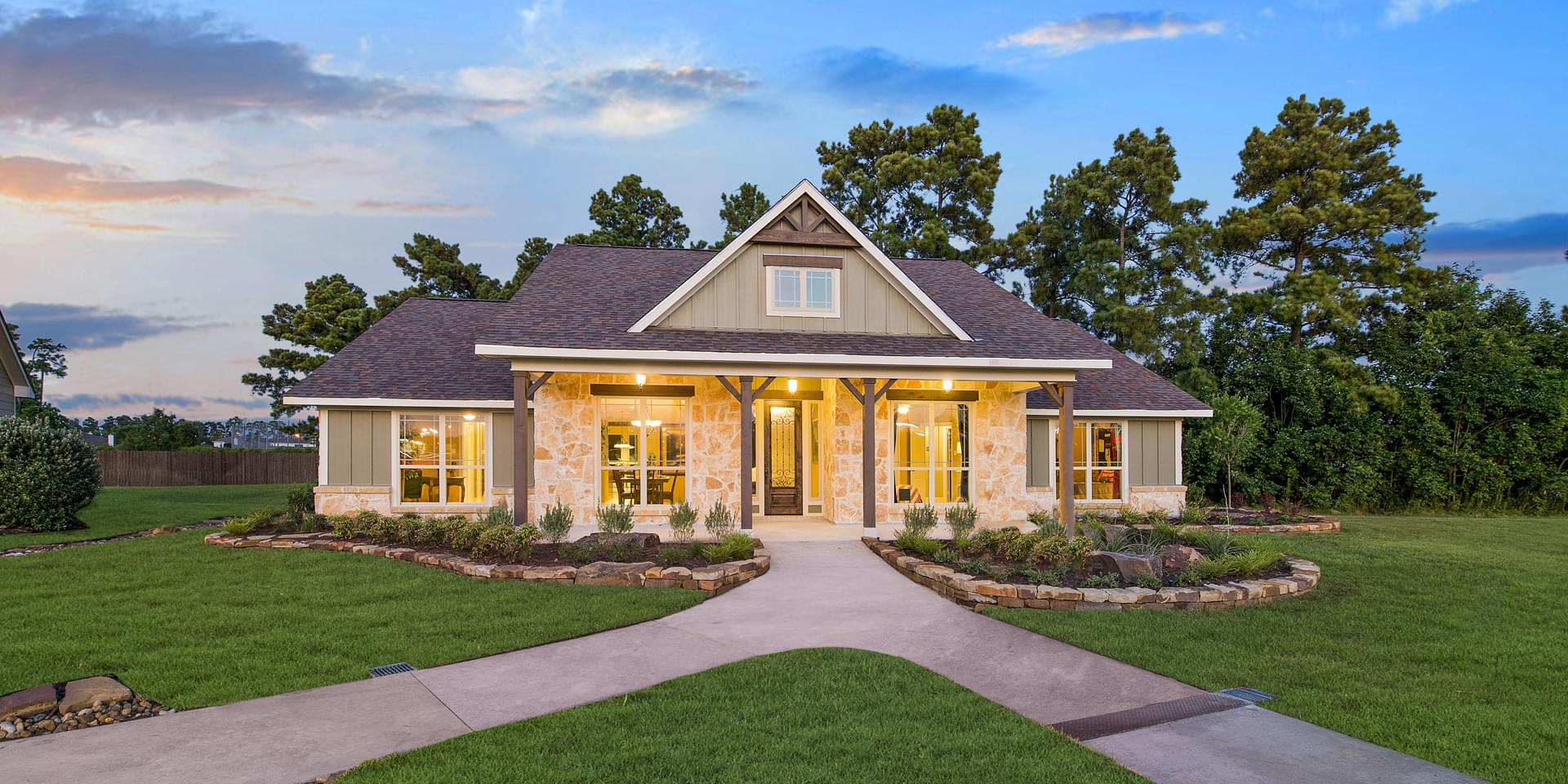 The San Jacinto Custom Home Plan from Tilson Homes