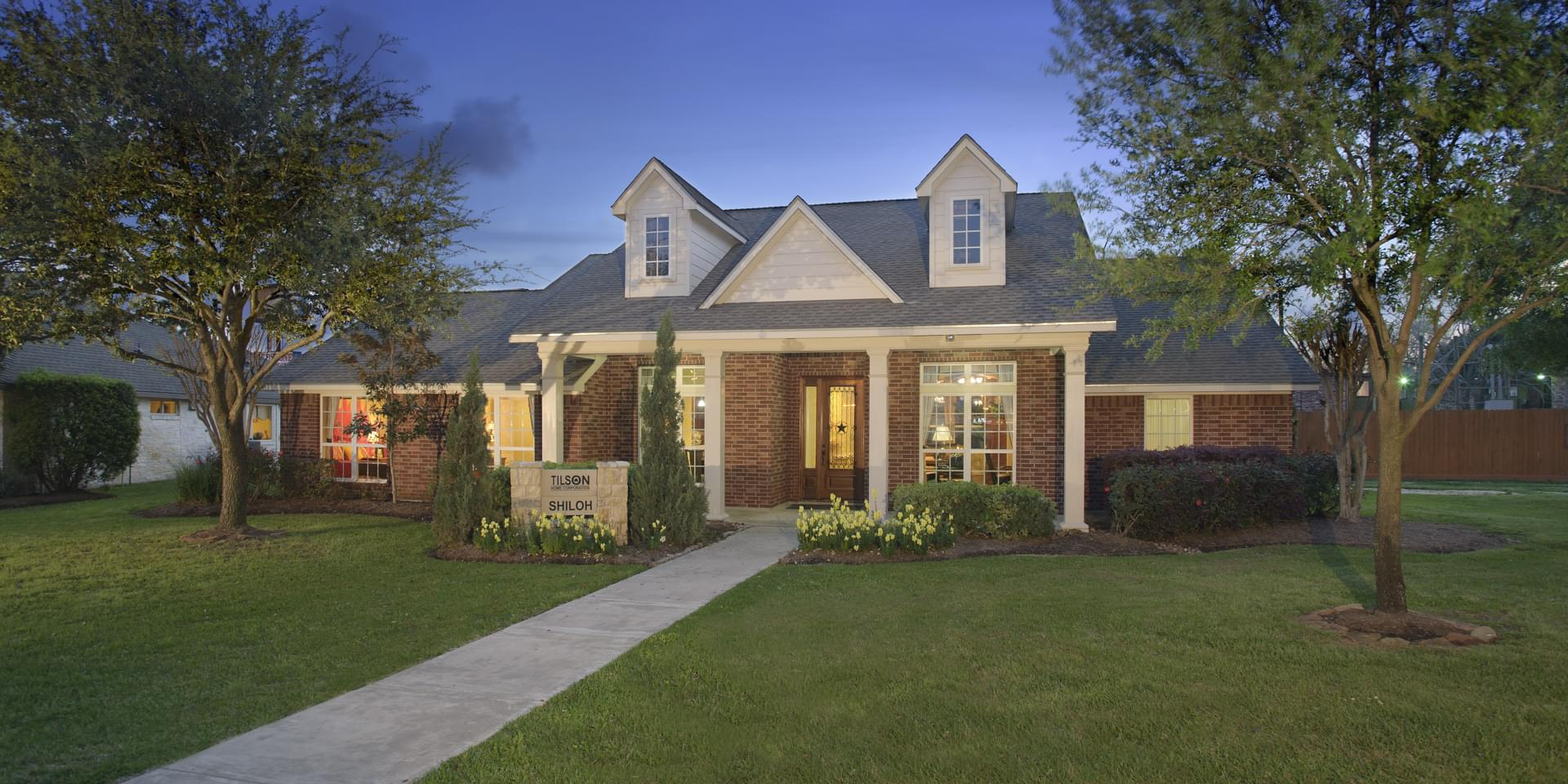 The Shiloh Custom Home Plan from Tilson Homes