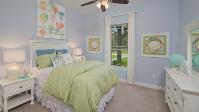 Bedroom 2 - Wimberley Model in Boerne Design Center Tilson Custom Home Photo