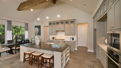 Kitchen - Wimberley Model in Boerne Design Center Tilson Custom Home Photo