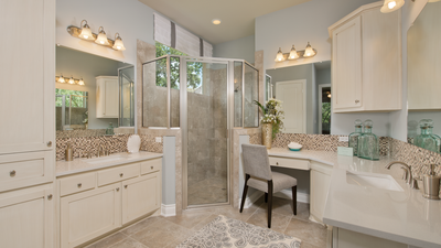 Master Bathroom - Wimberley Model in Boerne Design Center Tilson Custom Home Photo