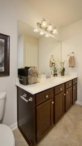 Bathroom 2 - The San Gabriel Model in Georgetown Design Center Tilson Custom Home Photo