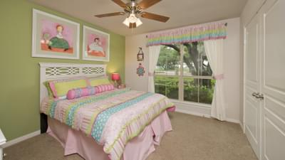 Bedroom 3 - The San Gabriel Model in Georgetown Design Center Tilson Custom Home Photo