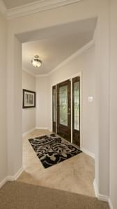 Foyer - The San Gabriel Model in Georgetown Design Center Tilson Custom Home Photo