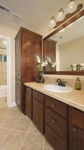 Bathroom 2 - The Savannah Model in Bryan Design Center Tilson Custom Home Photo