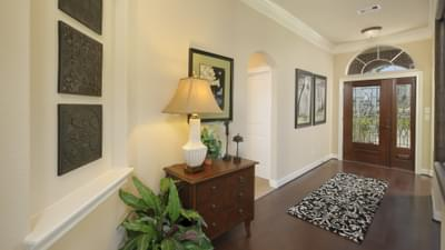 Foyer - The Savannah Model in Bryan Design Center Tilson Custom Home Photo