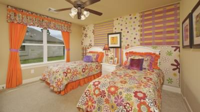 Bedroom 2 - The Shiloh Tilson Custom Home Photo