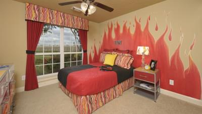 Bedroom 4 - The Shiloh Tilson Custom Home Photo