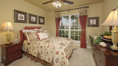 Bedroom 3 - The Shiloh Tilson Custom Home Photo