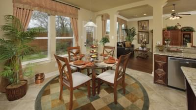 Breakfast Room - The Shiloh Tilson Custom Home Photo