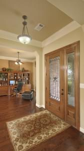 Foyer and Flex Room/Optional Study - The Shiloh Tilson Custom Home Photo