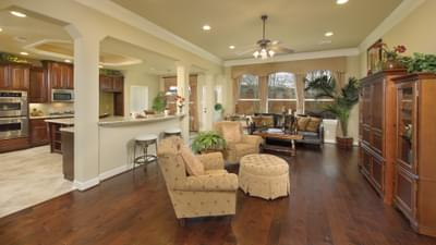 Family Room- The Shiloh Tilson Custom Home Photo