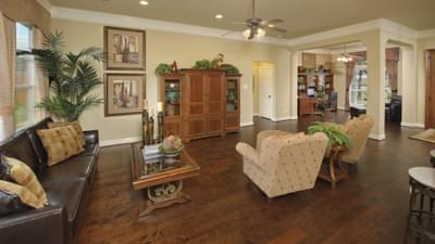 Family Room - The Shiloh Tilson Custom Home Photo