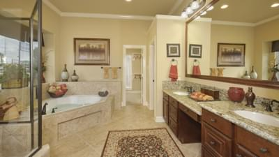 Master Bathroom - The Shiloh Tilson Custom Home Photo