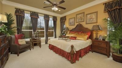 Master Bedroom - The Shiloh Tilson Custom Home Photo