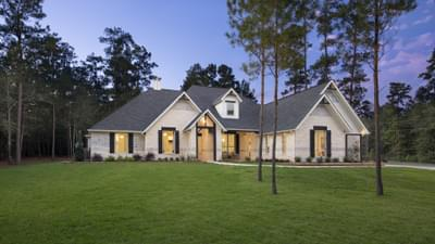 Texas Custom Home Exteriors Photos